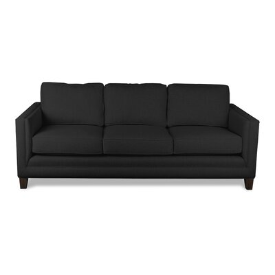 Cannes 84 Sofa Upholstery: Charcoal