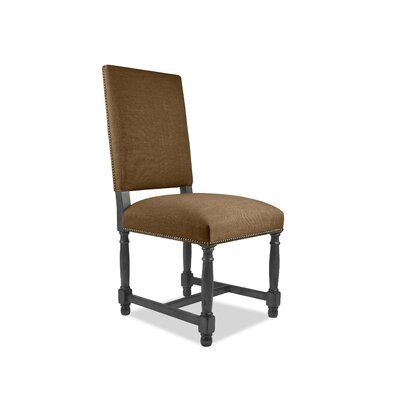 Lincoln Side Chair Upholstery: Brown