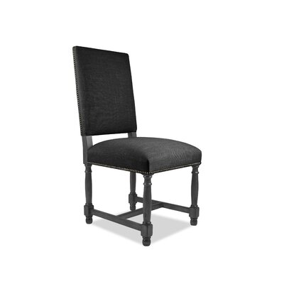 Lincoln Side Chair Upholstery: Charcoal