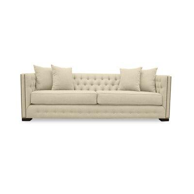 Bari 79 Chesterfield Sofa Upholstery: Sand