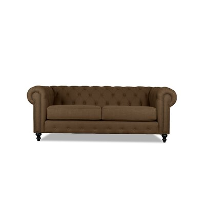 Hanover Tufted 72 Chesterfield Sofa Upholstery: Camo