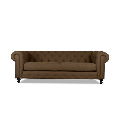 Hanover Tufted 90 Chesterfield Sofa Upholstery: Camo