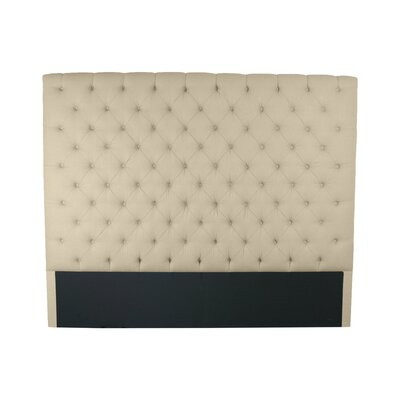 Franck Upholstered Panel Headboard Size: King, Upholstery: Sand
