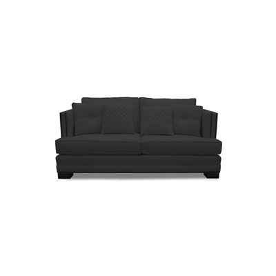 West Lux Sofa Upholstery: Charcoal