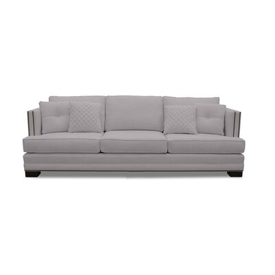 West Lux Sofa Upholstery: Gray