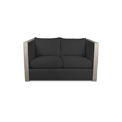 Renewal Loveseat Upholstery: Charcoal
