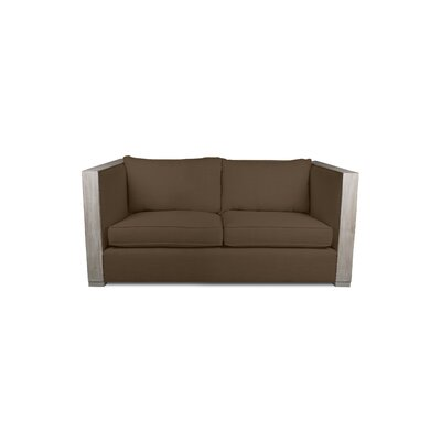 Renewal Loveseat Upholstery: Brown