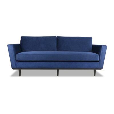 Clayton 72 Sofa Upholstery: Cobalt Blue