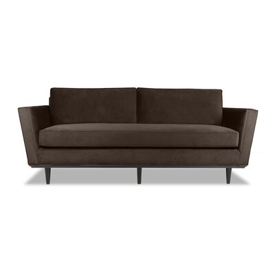 Clayton 72 Sofa Upholstery: Espresso