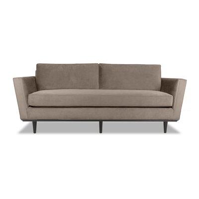 Clayton 60 Sofa Upholstery: Latte