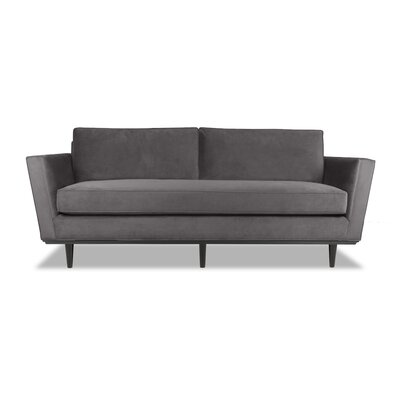 Clayton 60 Sofa Upholstery: Pewter