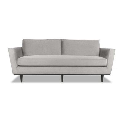 Clayton 60 Sofa Upholstery: Smoke