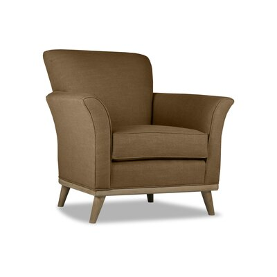 Jay Armchair Upholstery: Brown