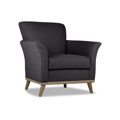 Jay Armchair Upholstery: Charcoal