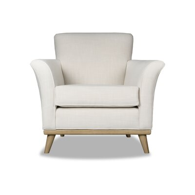 Jay Armchair Upholstery: White
