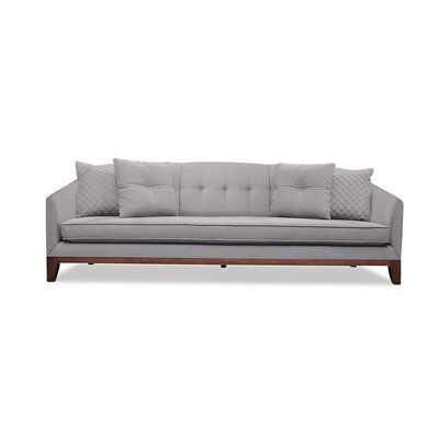 Roy 84 Sofa Upholstery: Gray