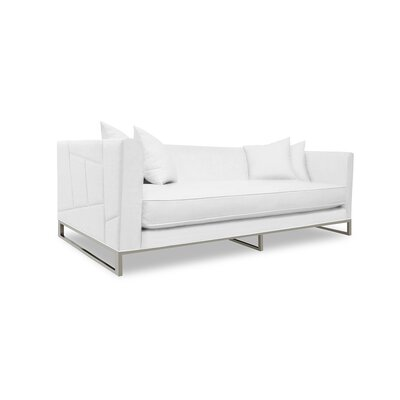 Lawrence 108 Sofa Upholstery: White