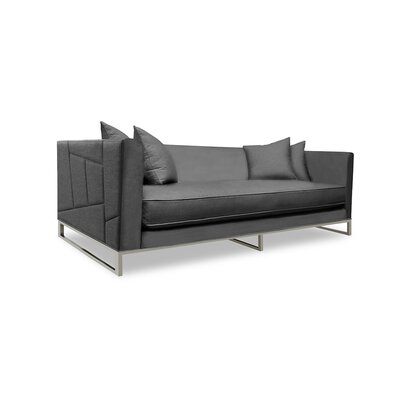 Lawrence 80 Sofa Upholstery: Charcoal