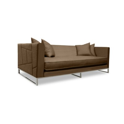 Lawrence 108 Sofa Upholstery: Brown