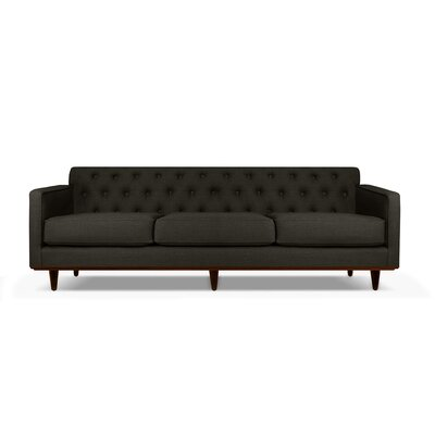 Harvey 60 Sofa Upholstery: Charcoal