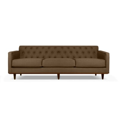 Harvey 90 Sofa Upholstery: Brown