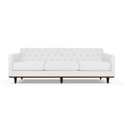Harvey 90 Sofa Upholstery: White