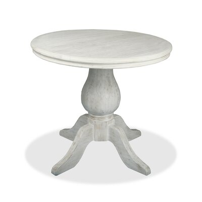 Marseille Pub Table Finish: Dry White, Size: 42 H x 48 L x 48 W