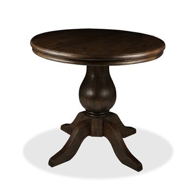 Marseille Pub Table Color: Dry Walnut, Size: 42 H x 42 L x 42 W