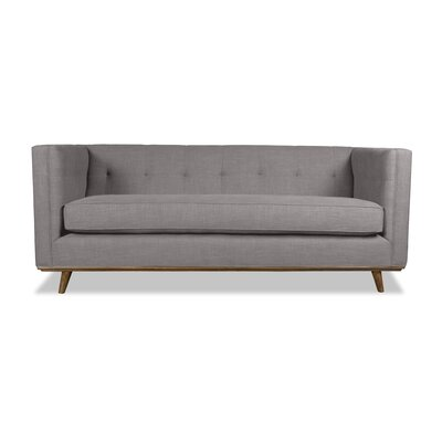 Grace 80 Chesterfield Sofa Upholstery: Gray