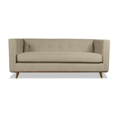 Grace 94 Chesterfield Sofa Upholstery: Sand