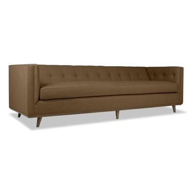 Grace 108 Chesterfield Sofa Upholstery: Brown