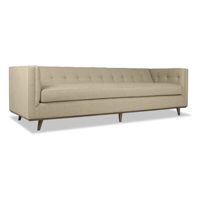 Grace 108 Chesterfield Sofa Upholstery: Sand