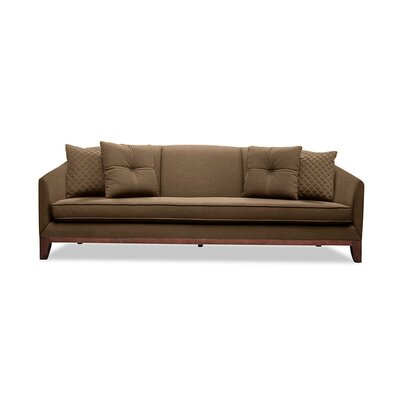 Lucile 72 Sofa Upholstery: Brown
