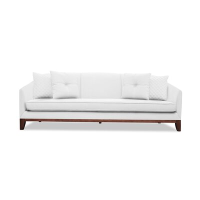 Lucile 84 Sofa Upholstery: White