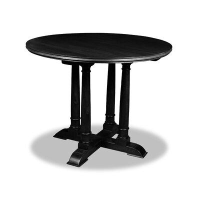 Carmel Pub Table Color: Dry Espresso, Size: 42 H x 48 L x 48 W