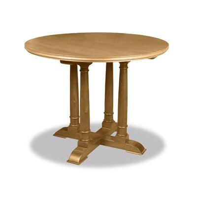Carmel Pub Table Color: Dry Maple, Size: 42 H x 48 L x 48 W