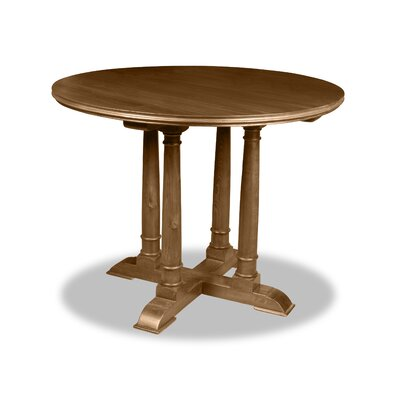 Carmel Pub Table Finish: Dry Smoke, Size: 42 H x 42 L x 42 W