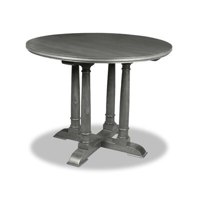 Carmel Pub Table Finish: Dry Cement, Size: 42 H x 48 L x 48 W