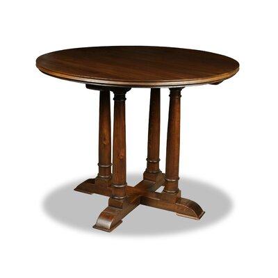 Carmel Pub Table Color: Dry Cognac, Size: 42 H x 42 L x 42 W