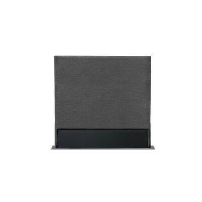 Handley Plain Upholstered Wingback Headboard Color: Charcoal, Size: High Height King