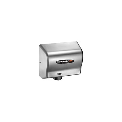 Adjustable High Speed 100 - 240 Volt Hand Dryer in Stainless Steel CPC9-SS