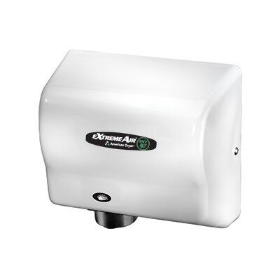 EXT Series 540W Max Hand Dryer in Steel White