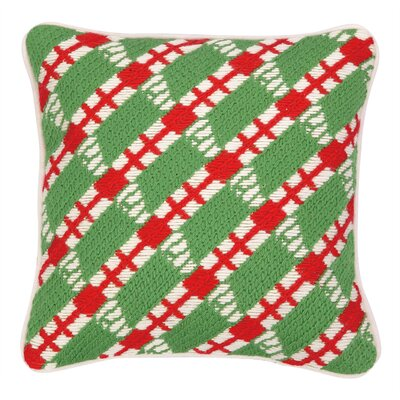 Lodi Bargello Throw Pillow Color: Dill
