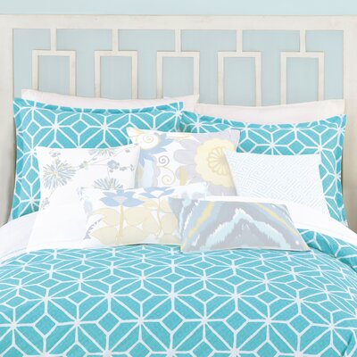 3 Piece Comforter Set Size: King, Color: Turquoise