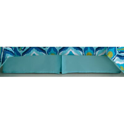 Bedskirts Finish: Blue, Size: Twin