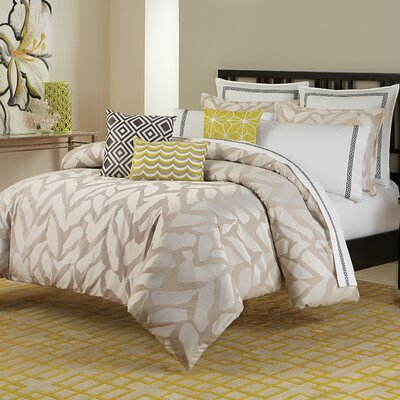 Giraffe Duvet Cover Size: King