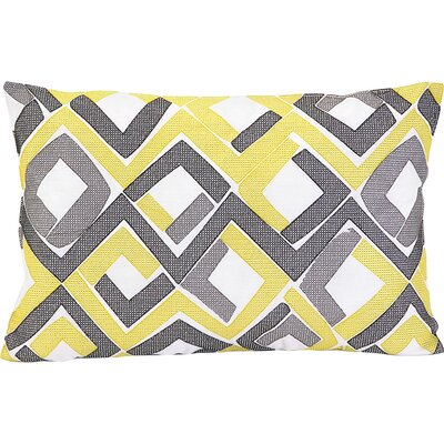 Trellis Cotton Throw Pillow