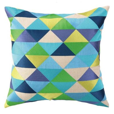 Holister Linen Pillow Color: Blue/Green