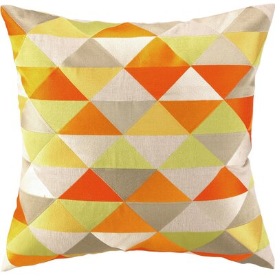 Holister Linen Pillow Color: Yellow/Orange