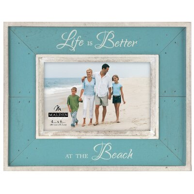 Life Is Better At The Beach Picture Frame HLDS7277 42671502